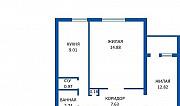 Продажа 2-х комнатной квартиры, г. Борисов, ул. Нормандия-Неман, дом 178. Цена 70254руб c торгом Борисов