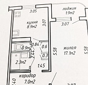 Купить 1-комнатную квартиру, Минск, ул. академика Федорова, д. 5 (Фрунзенский район) Минск