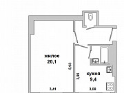 Купить 1-комнатную квартиру, Брест, Центр, пер. 1 Мая Брест