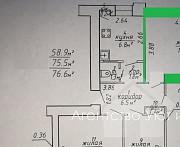 Продается комната в четырехкомнатной квартире, ул. Советская Витебск