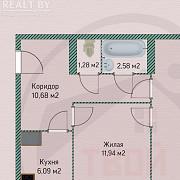 Продажа 2-х комнатной квартиры, г. Минск, просп. Независимости, дом 40 (р-н Захарова, Пулихова). Цен Минск