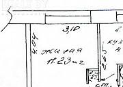 Продажа 1/3 доли в 1-комнатной квартире, г. Гомель, ул. 60 лет СССР, дом 15 (р-н Любенский). Цена 9 Гомель