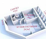 Купить 2-комнатную квартиру, Минск, просп. Дзержинского, д. 19 (Московский район) Минск