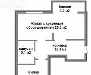 Лучшая квартира в Лебяжем по супер цене! Минск